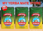 Cabral yerba mate Compuesta without Stems 3 Kilos - Free Shipping to U.S.